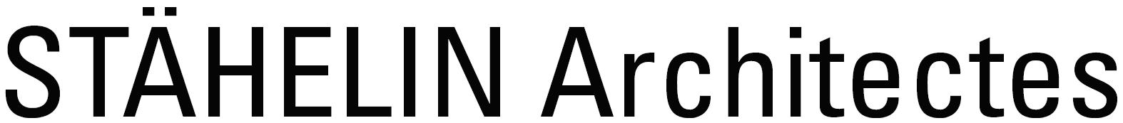 Logo de l'entreprise Stähelin Architectes